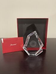 Baccarat Crystal Iceberg Paper Weight