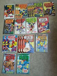 Megaton Man Set Of 20 From Kitchen Sink Comics 1984 And 1988 Series - Simpson
