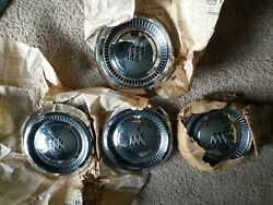 Vintage 1964 - 1970 Buick 455 Gran Sport Dog Dish Poverty Hubcaps Wheel Covers