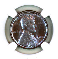 1925-s Ms63 Bn Ngc Lincoln Wheat Penny Superb Registry Quality Collection