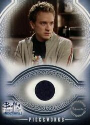 Buffy The Vampire Slayer The Men Of Sunnydale Pieceworks Costume Card Pw4