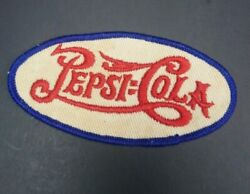 Very Rare Vtg 1930and039s -1940and039s Pepsi Cola Double Dot 4 Uniform Patch