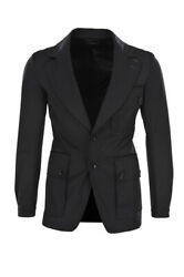 Tom Ford Jacket Menand039s 48 Black Polyester One Color
