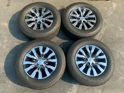 2021 Toyota Tacoma Factory Take Off Wheels Rims 18 Michelin Tires New Limited