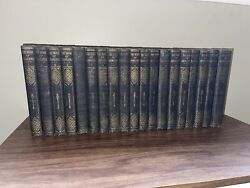 Vintage 1926 The Book Of Knowledge Children's Encyclopedia Set 19 Volumes