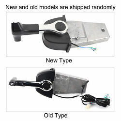 Outboard Motor Control Stainless Steel Single Engine Mount Boat Remote Control