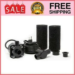800 Gph Submersible Pond And Waterfall Pump With Filters ...