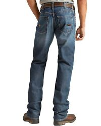 Ariat Men's M4 Flame Resistant Alloy Bootcut Jeans - Big And Tall - 10020812-big