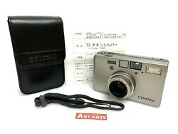 Claand039d【 Top Mint In Case W/ Strap 】 Contax T3 Single Teeth Film Camera From Japan