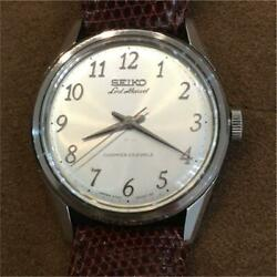 Seiko Lord Marvel 5740-8000 Hand Winding Automatic Analog Antique Working