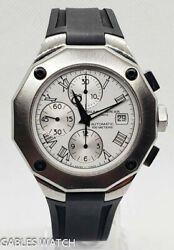 Baume And Mercier Riviera 65541 Steel 43mm Chronograph Automatic Watch