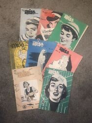 The Catholic Miss Of America Religious Christian Comic Book Lot 8 Year 1952