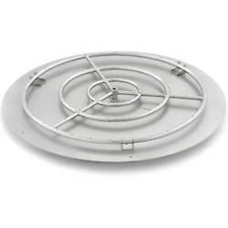 Lakeview Outdoor Designs 36-in Round Flat Pan With 30-in Natural Gas Ring Burner