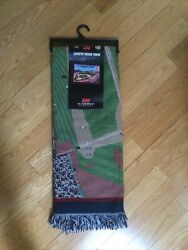 New Boston Red Sox Fenway Park 48x60 Woven Tapestry Throw Blanket