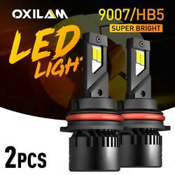 For Nissan Pathfinder Frontier 2005-2012 9007 Led Headlight Bulbs High Low Beam