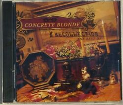 Concrete Blonde Recollection The Best Of I.r.s. 1996 New Factory Sealed Oop