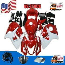 G14 Abs Plastic Red Injection Fairing Fit For Suzuki 2008-2015 Gsxr1300 A075