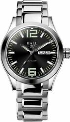 Authorized Dealer Ball Nm2026c-s12a-bk Engineer Iii King Black Dial 40mm Watch