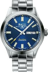 Authorized Dealer Ball Nm2182c-s4c-be Limited Edition Endurance 1917 Watch