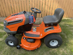 Husqvarna Riding Mower Tractor Brand New Yth22v46 With 46 Inch Deck 0 Miles