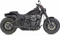 Two Brothers Comp S 2in1 Exhaust Softail Gen 2 Black 005-4970199-b