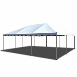Commercial Canopy Tent Party Gazebo 20x30 White Pvc Weekender West Coast Frame