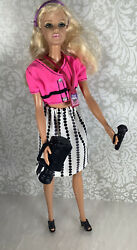 Barbie Backstage Interview Outfit Clothes Lot With Accessories And Camera