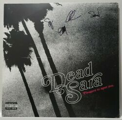 Dead Sara S/t Debut Vinyl Band Signed Rare Collectible