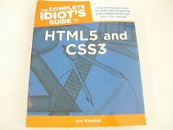 The Complete Idiots Guide To Html5 And Css3 Joe Kraynak 1st Edition Alpha 2011