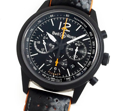 Bell And Ross Br126 Blackbird Flyback Chronograph Limited Edition Automatic Men's