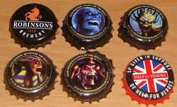 Iron Maiden Trooper Beer Bottle Tops Caps Legacy Of The Beast Robinsons