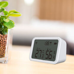 Mini Electronic Indoor Thermometer Hygrometer For Room Greenhouse Garden