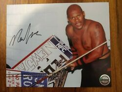 Pro Wrestling Crate New Jack Signed Photo 8x10 Auto Autograph July 2021 Ecw
