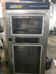 Proofer And Convection Oven Nu-vu Sub-123 208 Volts 3 Phase Tested
