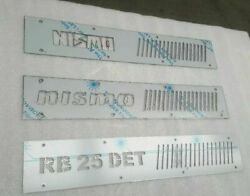 R33/r34 Coil Pack Covers/rb25det/mirror Finish