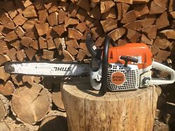 """Stihl Ms391 Chainsaw With 20"""" Bar And Chain. 64cc"""