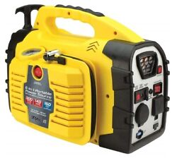 8n1 Portable Jump Power Station Pull Handle Generator Source With Inverter, 140w