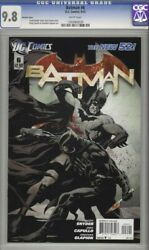 Batman 6 Cgc 9.8 125 Variant First Appearance Court Of Owls New 52 2012