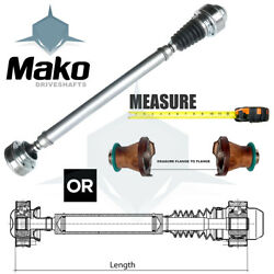 Jeep Front Driveshafts Various / All Sizes -please Choose Size Dsj And Notify Us