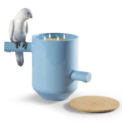 Lladro Parrot's Scented Treasure On The Prairie Scent Blue 01040193