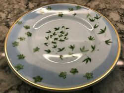 Raynaud Limoges Verdures Christian Tortu Bread And Butter Plate 6.5 Discontinued