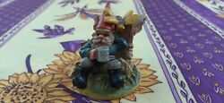 Gnome Bee And Beer Stein Hand Painted Figurine Geharo Bv Drempt Holland Set