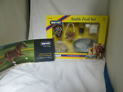 Breyer Stable Feed Set Traditional Size Horses Series 1:9 Scale NEW #2486