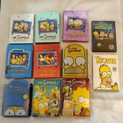 The Simpsons Complete Seasons 1 - 9, Movie, Treehouse Of Horror Bundle Lot Dvd
