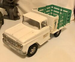 Vintage 1961 Tonka Green Giant Stake Bed Truck Private Label Original Near Mint