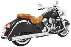 Freedom Performance 4in. Liberty Slip-on Chrome/black End Caps In00029