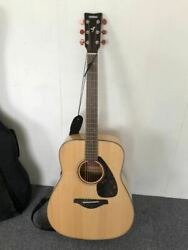 yamaha Fg750s 6 String Natural Acoustic Guitar Sold As Is Shipped From Japan