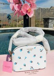 🌸 Kate Spade Spencer Garden Ditsy Small Dome Crossbody Leather Bag NEW $158 🌸 $96.99