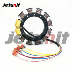 Stator For Mercury/mariner 30jet-85hp Outboard 2-stroke 4/3 Cyl. 9-amp 832075a20