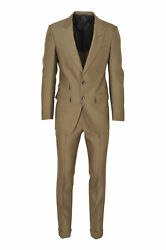 Tom Ford Suit Menand039s 46 Khaki Regular Fit One Color
